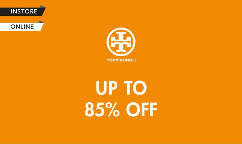 Tory Burch Flash Sales (Instore & Online)