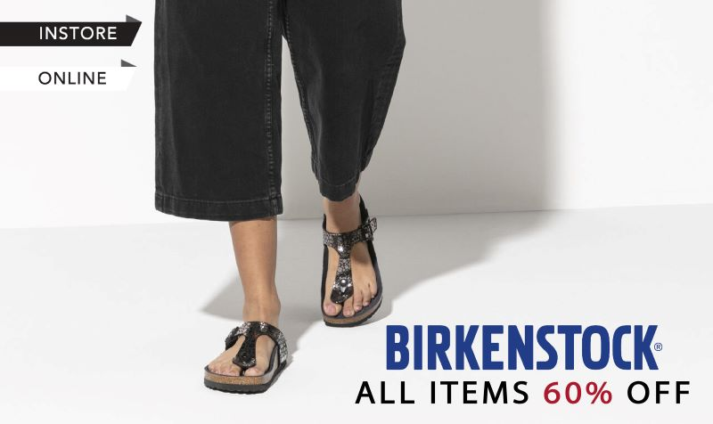 Birkenstock Flash Sales (Instore & Online)