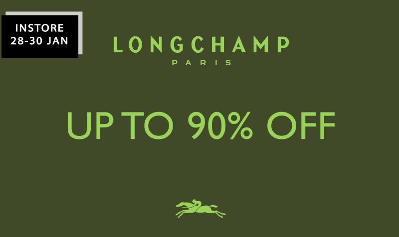 Longchamp Flash Sales